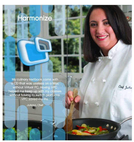Chef JoAnna - Photo used at the Microsoft Booth at Macworld, 2006
