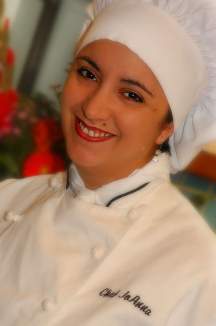Chef JoAnna, basic headshot